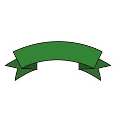 Ribbon banner icon vector