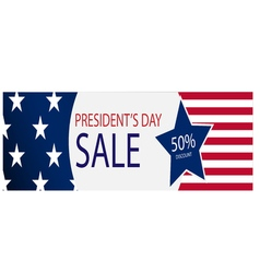 The presidential election big discount vector