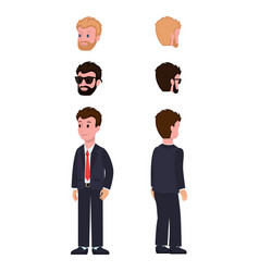 Character construction set vector