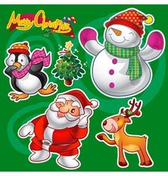 Christmas elements c vector