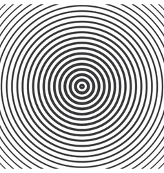 Concentric circle elements vector image