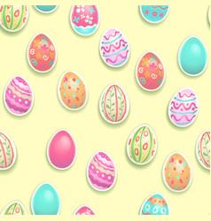 festive seamless pattern vector image