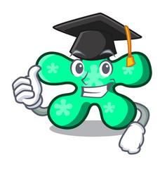 Graduation free form character cartoon vector