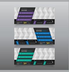 material diagonal web banner design template vector image