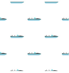 Speed boat pattern seamless vector