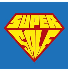 Super sale tag banner for website and mobile vector