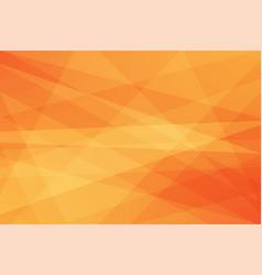 orange geometric abstract background vector image