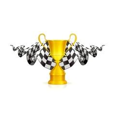 Racing Emblem vector image vector image