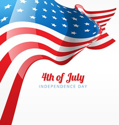 abstract 4th of july vector image