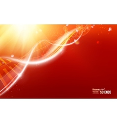 Abstract dna design vector