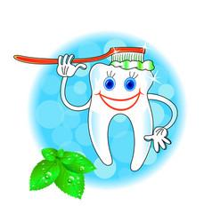 dental hygiene icon vector image