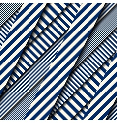 Diagonal strips pattern vector image