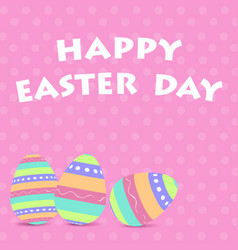 easter day vector image