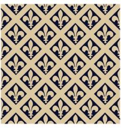 Fleur-de-Lys pattern vector image