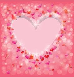 light heart 380 vector image