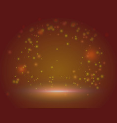 Red magic beautiful scene background blank vector