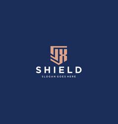 sx shield vector image