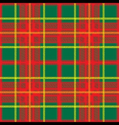 traditional scottish plaid seamless pattern vector image