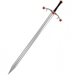 sword of the knight vector image