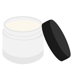 Face cream vector image