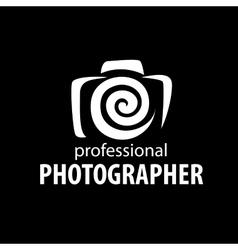 logo camera the photographer vector image vector image
