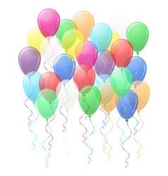 balloons 02 vector image