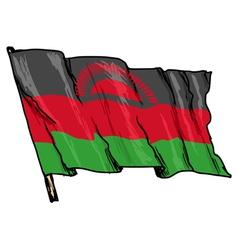 Flag of Malawi vector