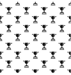 Gold cup pattern vector