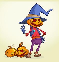 Halloween scarecrow2 vector