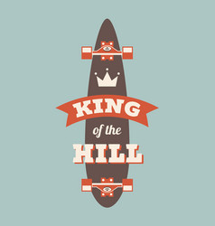 King hill vector
