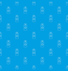 mosquito spray pattern seamless blue vector image