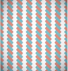 Seamless Vintage Geometric Ropes Retro Lines vector image