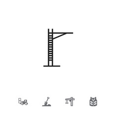 set of 5 editable construction icons includes vector image