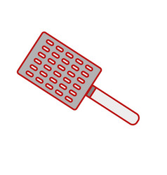 Slice kitchen utensil that used to cook vector