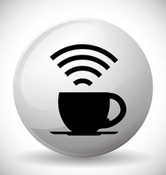 Wi-fi design vector