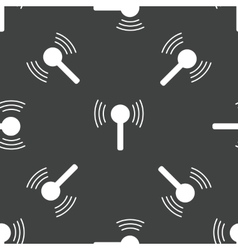 Wireless signal pattern vector image
