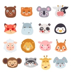 Animal emotions vector image vector image