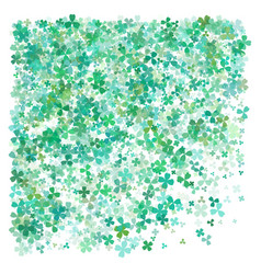 a st patricks day background simple design vector image