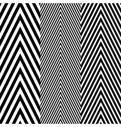 Abstract Black and White Herringbone Fabric Style vector
