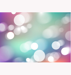 Bokeh lights on blurred colors background vector