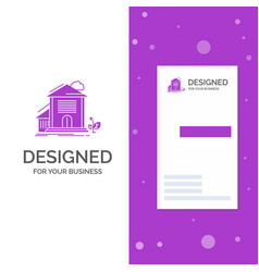 business logo for home house apartment building vector image