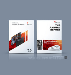 Business template brochure design cover vector