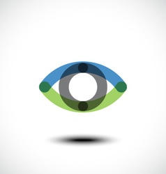 Eye Logo design vector