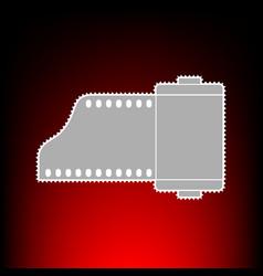 foto camera casset vector image