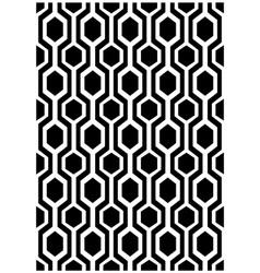 Hexagon design vector