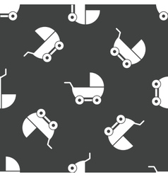Pram pattern vector image