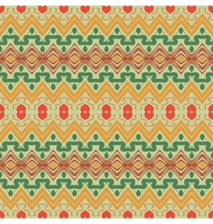 seamless ornament in ethnic style vector image