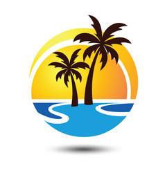 Summer logo vector