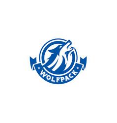 Wolfpack logo vector