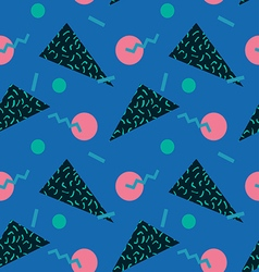 seamless background 80s11 vector image